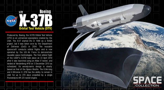 X-37B Orbital Test Vehicle (1:72)