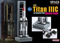 Titan IIIC w/Launch Pad, Maiden Flight (1:400)