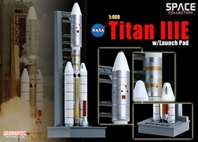 Titan IIIC w/Launch Pad (1:400)