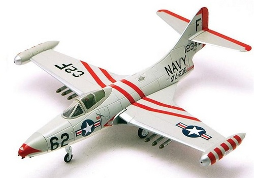 F9F-2 Panther Advanced Training Unit 206, NAS Pensacola, 1956 (1:72)