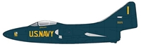 "F9F-5 Panther U.S. Navy ""Blue Angels,"" 1953 (1:72)"