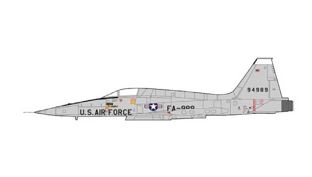 F-5A Tiger Freedom Fighter, 59-4989, USAF (1:72) NEW TOOLING!