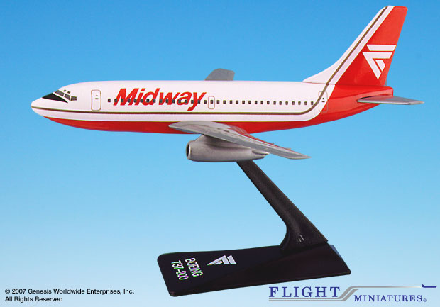 Midway 737-200 (1:200)