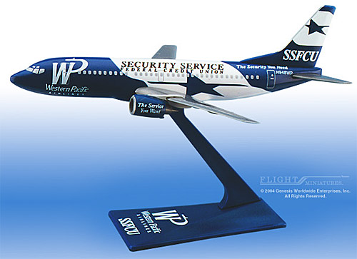 Western Pacific SSFCU 737-300 (1:200)