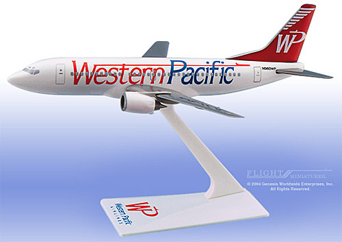 "Western Pacific 737-300 ""Standard"" (1:200)"