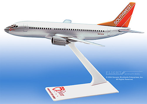 "Southwest 737-300 ""Silver One"" (1:200)"