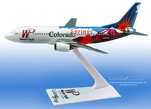 "Western Pacific 737-300 ""Colorado"" (1:200)"