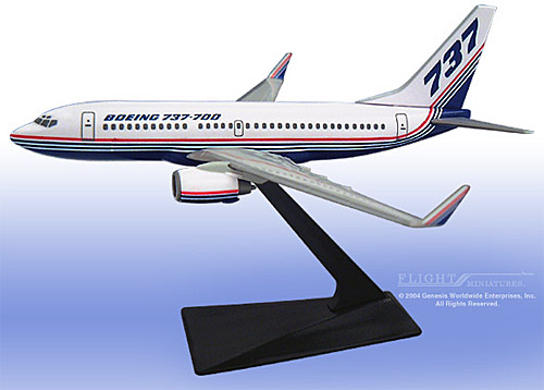 Boeing 737-700/w House Colors (1:200)