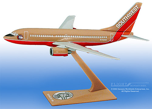 "Southwest 737-700 ""Nolan Ryan"" (1:200)"