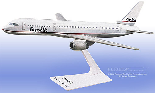 "Republic 757-200 ""Gray Scheme"" (1:200)"