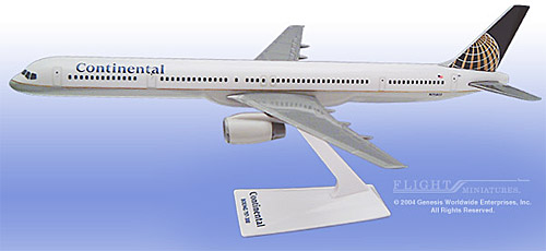 Continental 757-300 (1:200)