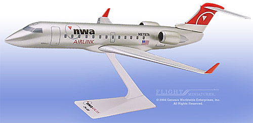 Northwest Airlink CRJ-200 (1:100)