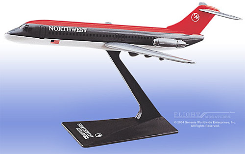 Northwest DC-9 (Old Colors) (1:200)