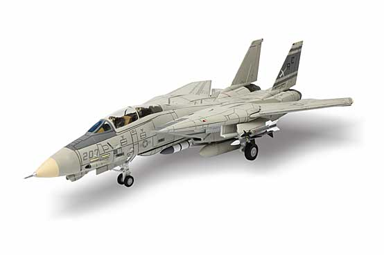 F-14A Tomcat, US Navy, VF-32 Swordsmen, AC207, USS John F. Kennedy, Gulf of Sidra, January 4th 1989 (1:72)
