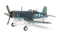 "F4U-1D Corsair, USMC VMF-114, Death Dealers, ""Sun Setter"", USS Essex, 1944 (1:72)"