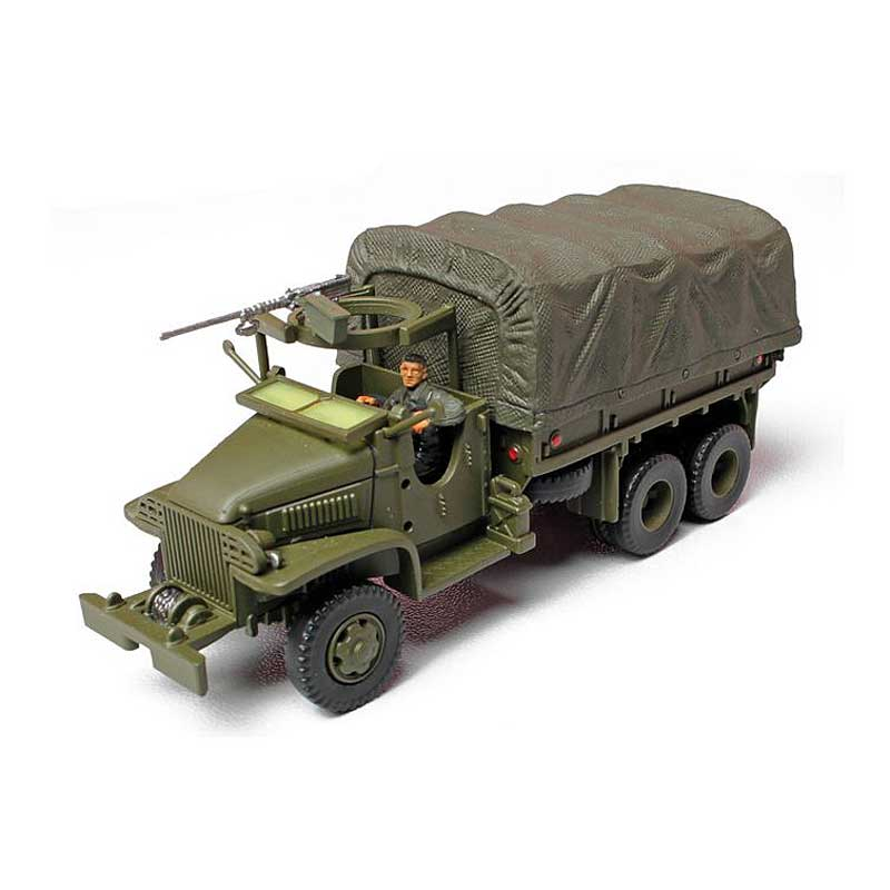 GMC 2 Ton Cargo Truck, 80th Infantry Division, Ardennes, 1944 (1:72)