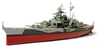 German Battleship Tirpitz Norway, 1943 (1:700)