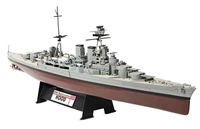 HMS Battlecruiser Hood Battle of the Denmark Strait, 1941 (1:700)