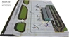 2-Piece Airport Mat Set (1:400 side 1, 1:200 side 2 - New, Improved Design