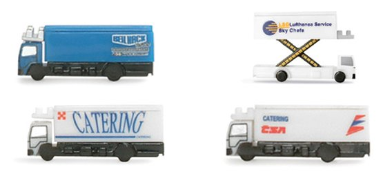 Catering Vehicles (1:500)