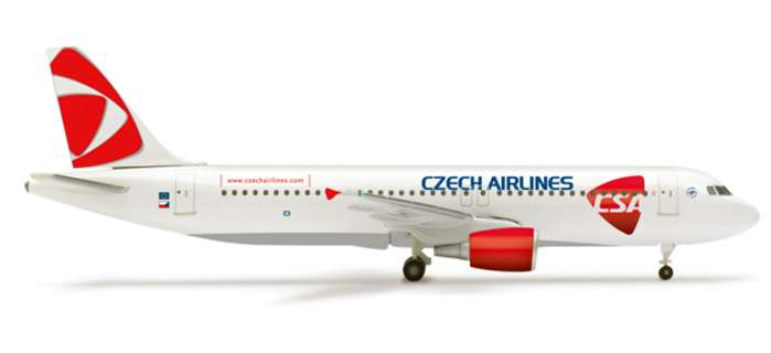 Csa A320 New Livery (1:500) - Special Sale Item
