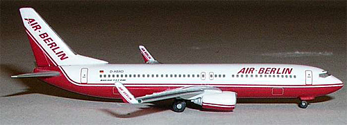 Air Berlin Nc B737-800 (1:500)
