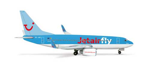 Jetairfly 737-700 (1:500)