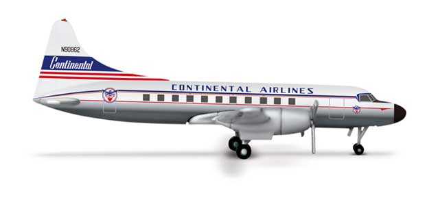 Contintental Airlines Convair 440 (1:500)