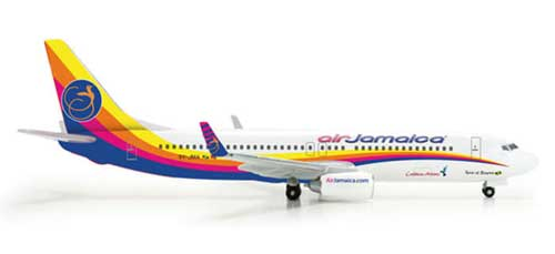 "Air Jamaica 737-800 ""New Livery"" (1:500)"