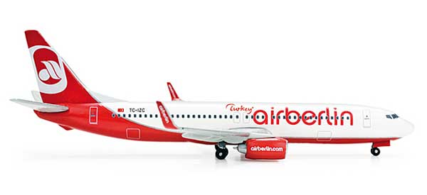 Air Berlin Turkey 737-800 (1:500)