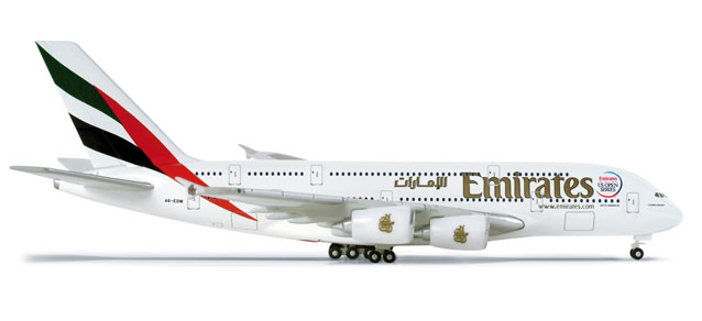 Emirates A380 (1:500) US Open