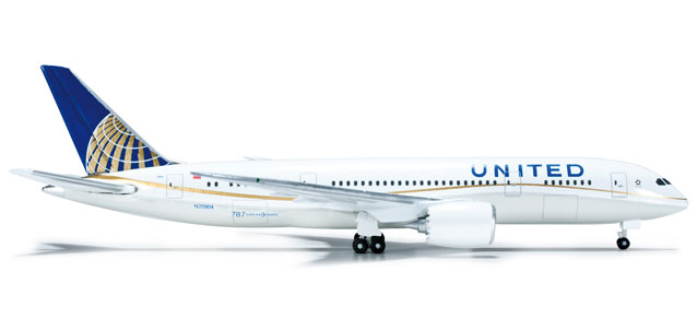 United 787-8 (1:500) New 787 Livery