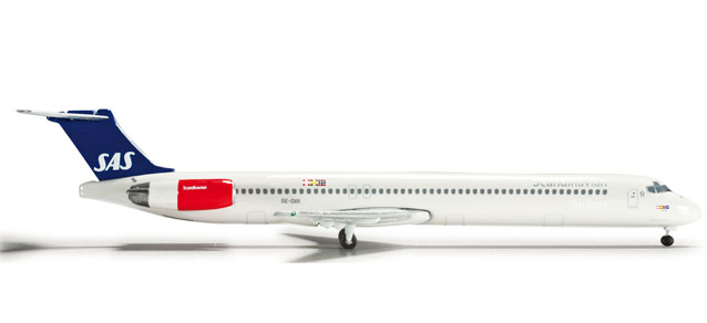 SAS Scandinavian Airlines MD-81 (1:500)