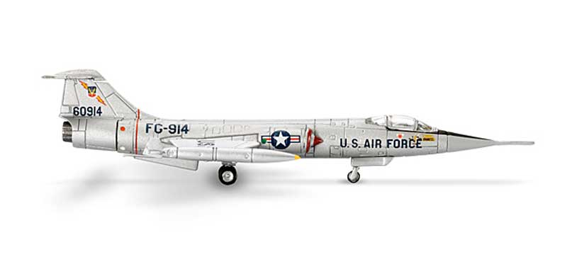 USAF 479th Tactical Fighter Wing Lockheed F-104G Starfighter (1:200)