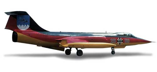 "Luftwaffe F-104F ""Jabog 34 50 Years"" (1:200)"