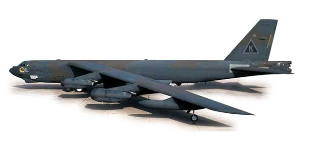 "Boeing B-52G Stratofortress, USAF 379th Bomb Wing ""Old Crow Express"", Operation Desert (1:200)"