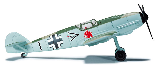 Messerschmitt BF-109E Luftwaffe JG 26, Hptm. Adolf Galland (1:87)