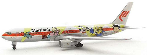 "Martinair 767-300 Fox Kids ""Koningin Beatrix"" (1:400)"