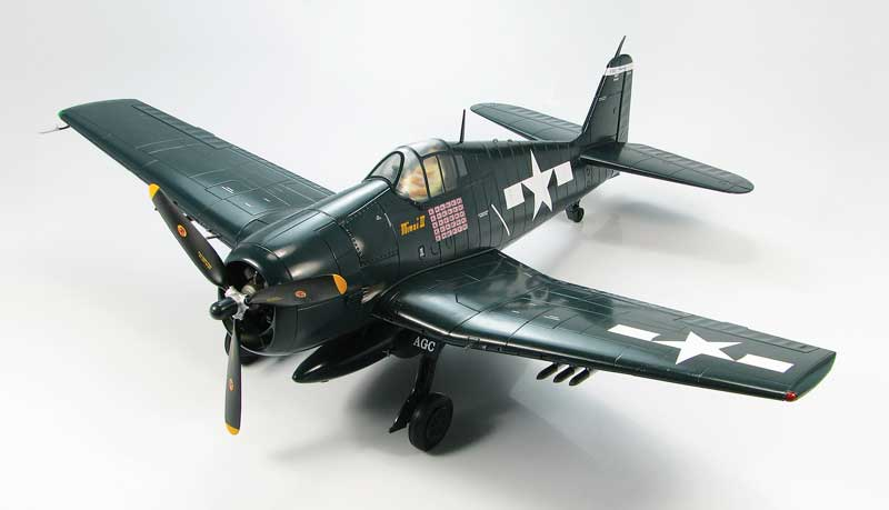 "F6F-5 Hellcat, ""Minsi III,"" Cdr. David McCampbell, U.S. Navy, USS Essex, 1944 (1:32) New Tooling!"