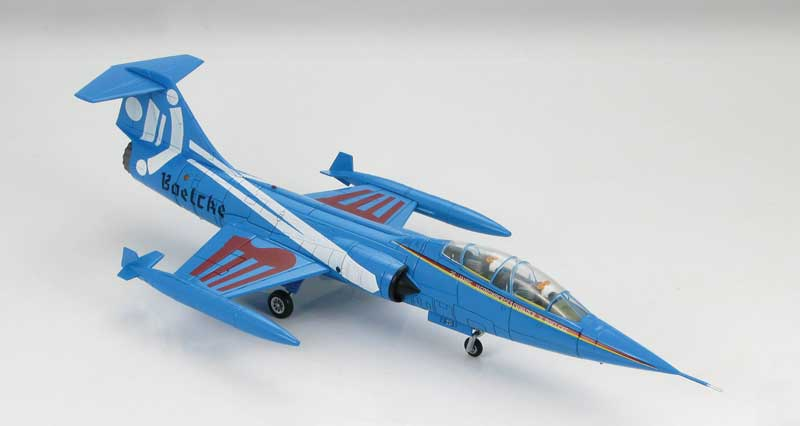 "TF-104G Starfighter JBG 31 ""Boelcke"", 25th Anniversary Scheme, Luftwaffe, 1983 (1:72)"