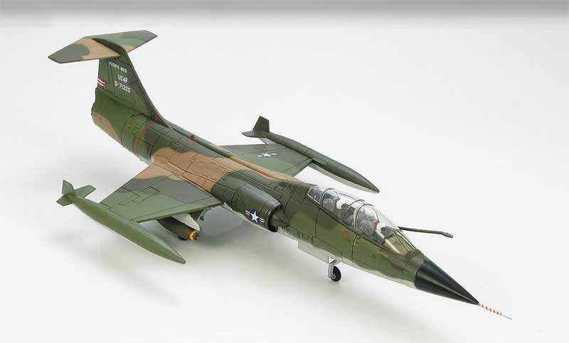F-104D Starfighter 198th Tactical Fighter Squadron, Puerto Rico ANG, 1974 (1:72)