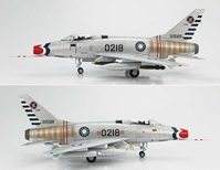 "F-100A Super Sabre ""0218,"" Republic of China (Taiwan) Air Force, 1980s (1:72)"