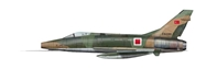 "F-100D Super Sabre, ""0-63390,"" Turkish Air Force, 1970s (1:72)"