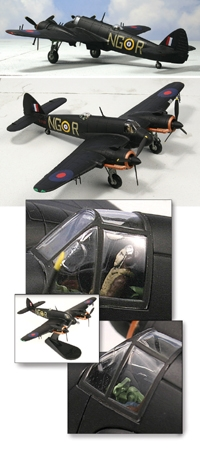 "Bristol Beaufighter IF No. 604 Squadron ""County of Middlesex,"" late 1940 (1:72)"