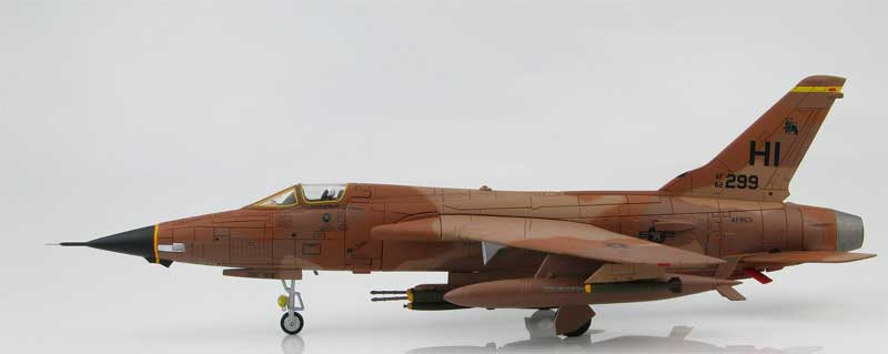 F-105 Thunderchief, AF62-299 Desert Fox, 466th TFS Hill Air Force Base, Utah, April 1983 (1:72)
