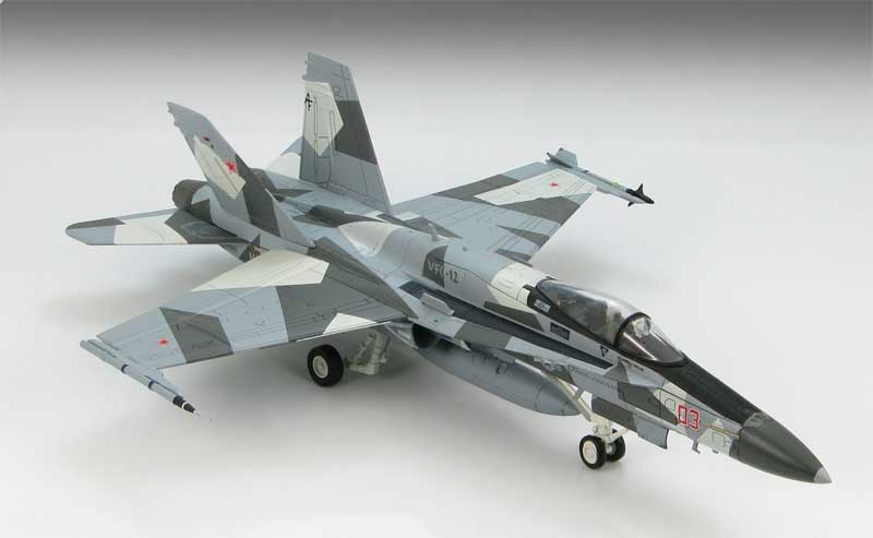 "F/A-18A Hornet VFC-12 ""Fighting Omars,"" U.S Navy (1:72)"