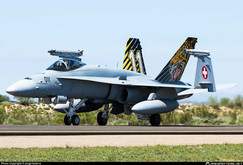 "F/A-18C J-5011, Swiss Air Force, ""NATO Tiger Meet 2016"" (1:72) - Preorder item, order now for future delivery"