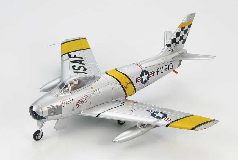 "F-86F Sabre, ""Beauteous Butch II,"" Joseph C. McConnell Jr., 39th FIS, 51st FIW, USAF, Suwon Air Base, 1953 (1:72)"