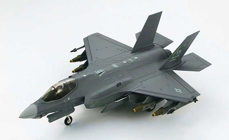 Lockheed F-35A Lightning II 461st Flight Test Squadron, 412th Test Wing, Spring, 2013 (1:72) New Tooling!