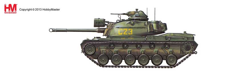 M48A3 Patton USMC, Vietnam War (1:72) NEW TOOL!